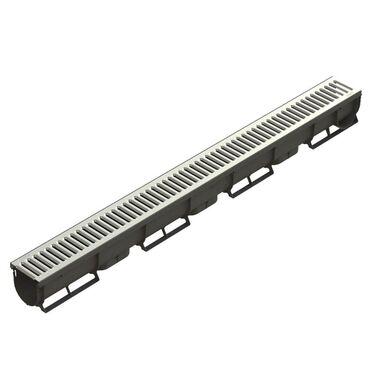 Kanał odwodnieniowy z rusztem ocynkowanym SPARK 90 x 90 x 1000 mm