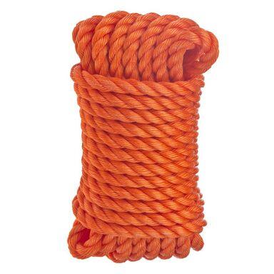 Lina polipropylenowa 200 kg 12 mm x 10 m skręcana pomarańczowa STANDERS