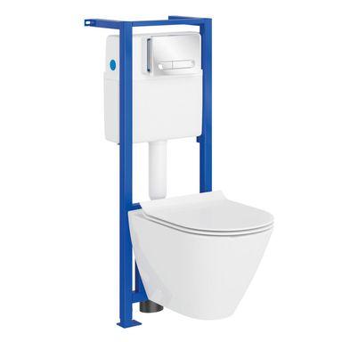 Zestaw podtynkowy WC CERSANIT CAPRI