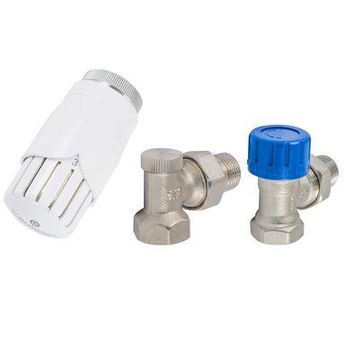 Zestaw termostatyczny KĄTOWY M22 x 1,5 mm SCHLOSSER