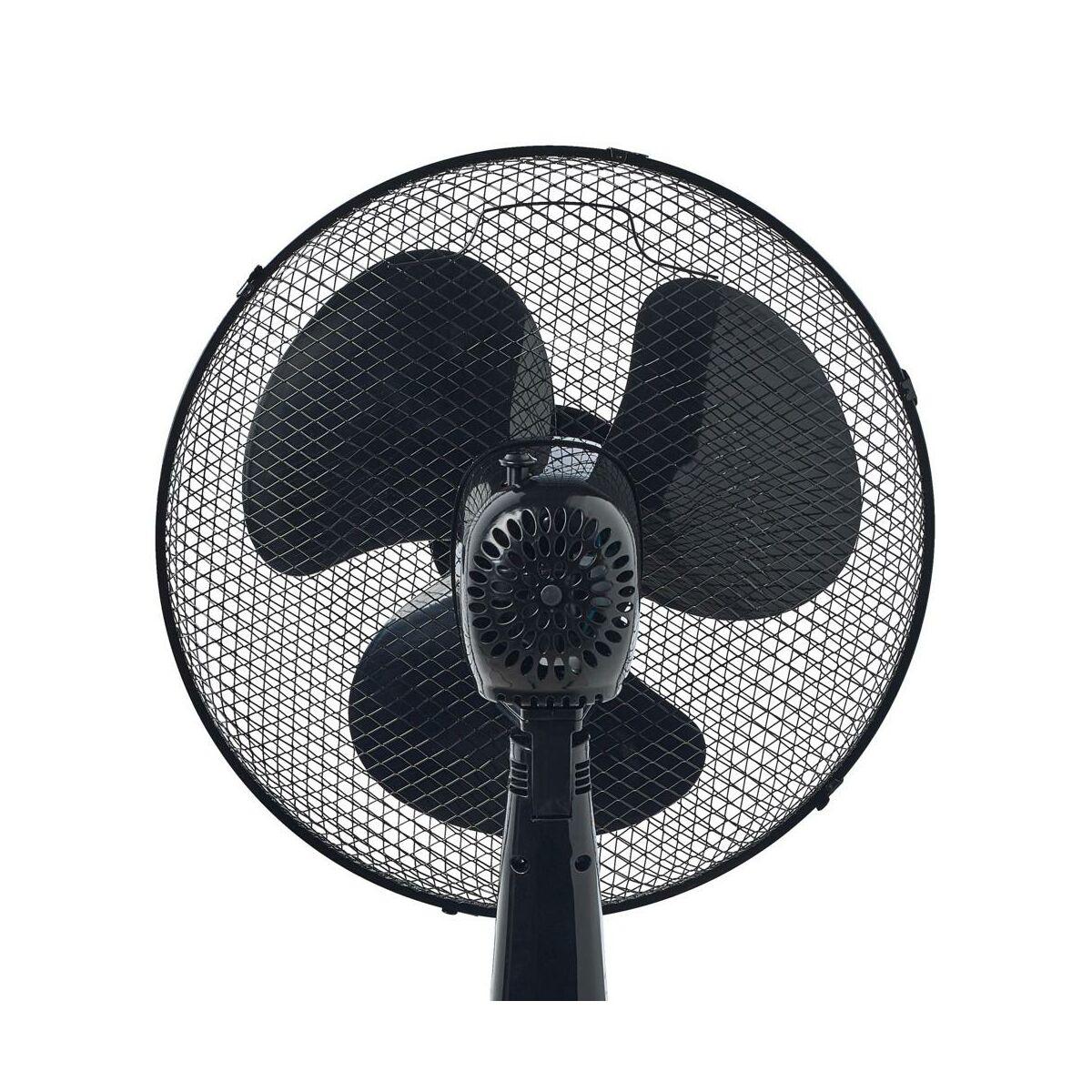 Wentylator Podlogowy 40 Cm Vo0027 40 W Czarny Volteno Wentylatory Przenosne W Atrakcyjnej Cenie W Sklepach Leroy Merlin