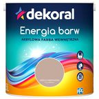 Farba wewnętrzna ENERGIA BARW 2.5 l Orzech Amerykański DEKORAL