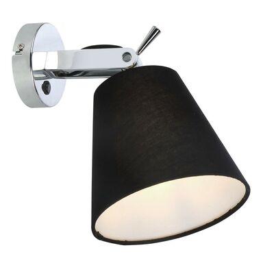 Kinkiet BALI czarny z chromem E14 LIGHT PRESTIGE