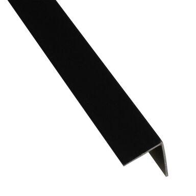 Kątownik PVC 2.6 m x 19.5 x 19.5 mm matowy czarny