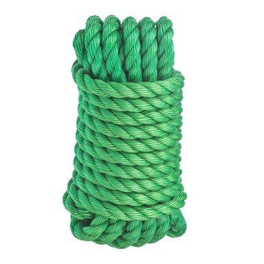 Lina polipropylenowa 280 kg 14 mm x 7.5 m skręcana zielona STANDERS