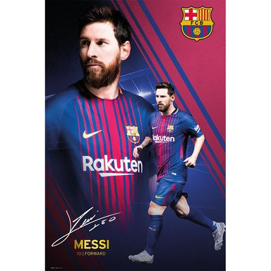Plakat BARCELONA-MESSI COLLAGE 61 x 91.5 cm