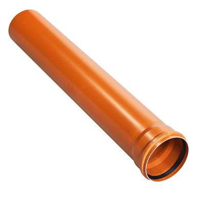 Rura kanalizacyjna zewnętrzna SN8 110 mm/1 m DREWPLAST