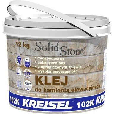 Klej do kamienia elewacyjnego SOLID STONE 12 kg KREISEL