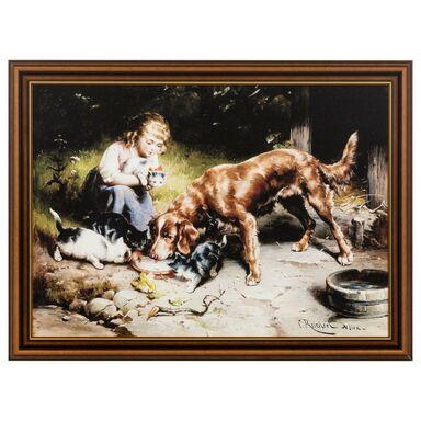 Obraz PRZYJĘCIE CARL REICHERT 78 x 58 cm