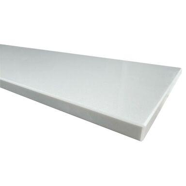 Parapet wewnętrzny konglomeratowy Snow White 92x30x2 cm KNAP