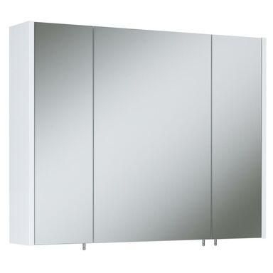 Szafka łazienkowa bez oświetlenia TECHNO 800 3 WHITE ELITA