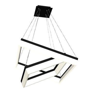 Lampa wisząca Nero czarno-biała LED