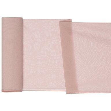 Firana na mb DEMI różowa wys. 300 cm