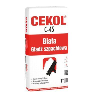 Gładź szpachlowa C-45 1 kg CEKOL