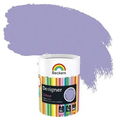 Farba wewnętrzna do ścian i sufitów DESIGNER COLOUR 5 l Crocus Violet BECKERS