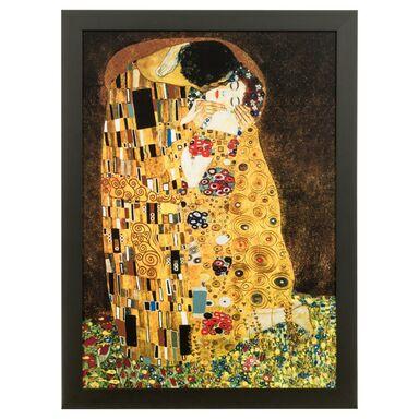 Obraz GUSTAW KLIMT POCAŁUNEK 56 x 76 cm  NIELSEN