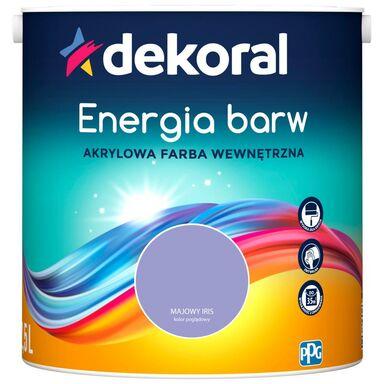 Farba wewnętrzna ENERGIA BARW 2.5 l Majowy Irys DEKORAL