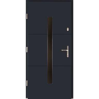 Drzwi wejściowe PROXIMA Antracyt 90 Lewe