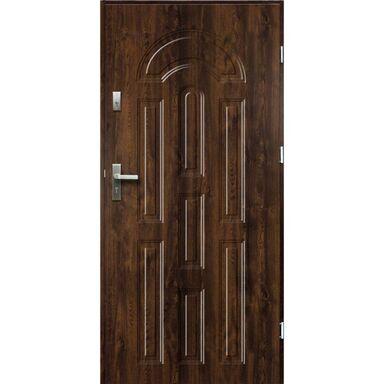Drzwi wejściowe AURORA Orzech 80 Prawe OK DOORS TRENDLINE