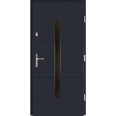 Drzwi wejściowe PROXIMA Antracyt 90 Prawe