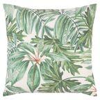 Poduszka w liście Laub zielona 45 x 45 cm Inspire