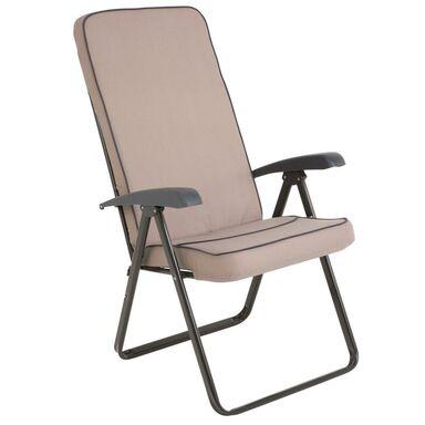 Fotel ogrodowy MODENA SQUARE PATIO beżowy