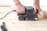 Renowacja podłogi z paneli podłogowych