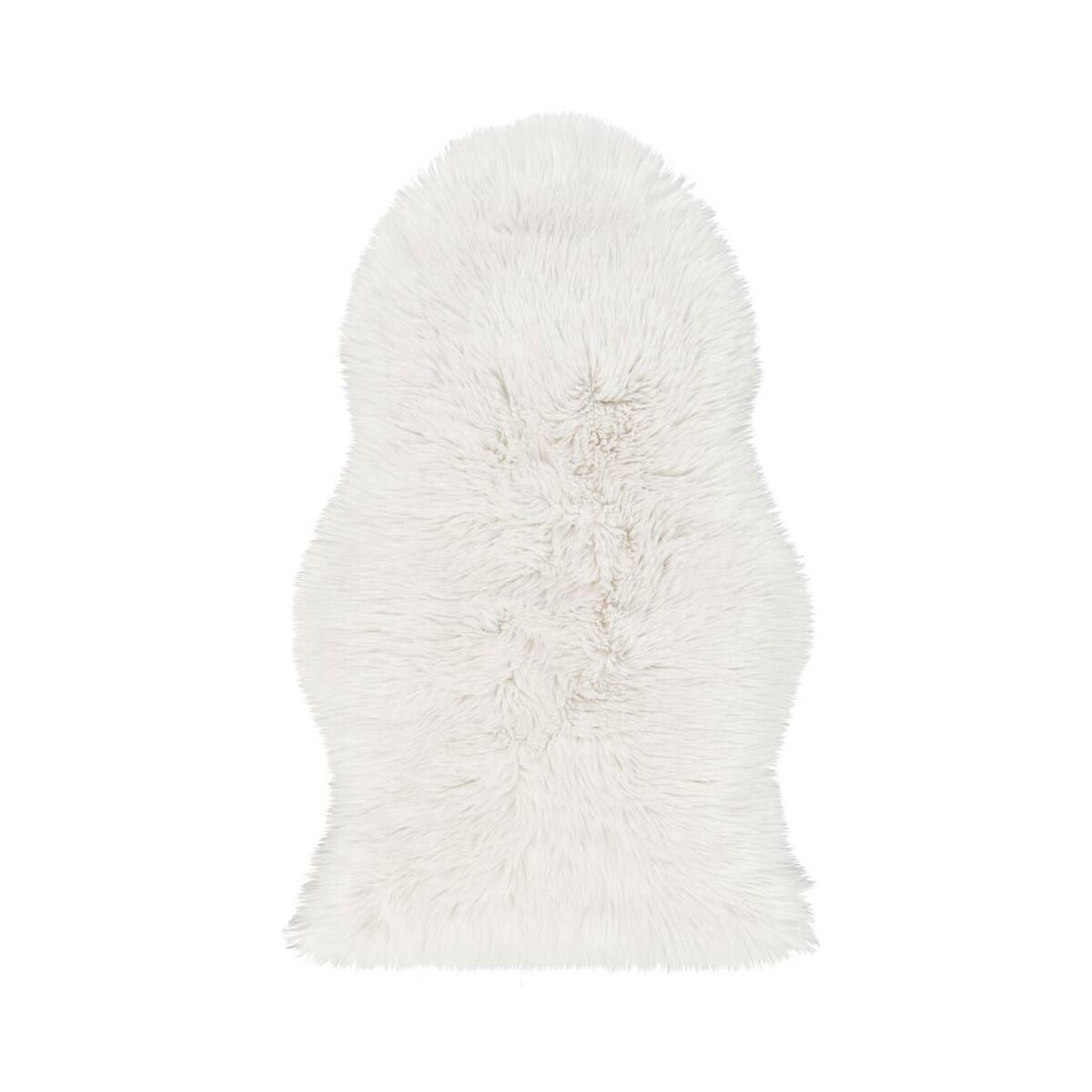 7bb1811d43c99 Skóra owcza FAUX biała 60 x 100 cm INSPIRE - Dywany wewnętrzne - w ...