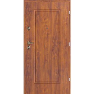 Drzwi wejściowe CALISTA ALMADA Złoty dąb 90 Prawe LOXA