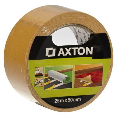 Taśma klejąca dwustronna do wykładzin 50 mm x 25 m AXTON