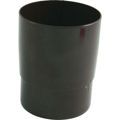 Mufa rury spustowej 105 mm Brązowa Marley