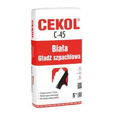 Zaprawa szpachlowa C-45 5 kg CEKOL