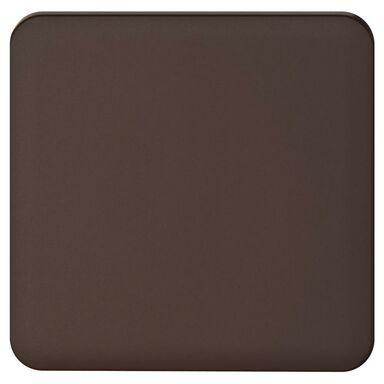 Plakietka do włącznika pojedynczego schodowego  czekoladowy  LEXMAN