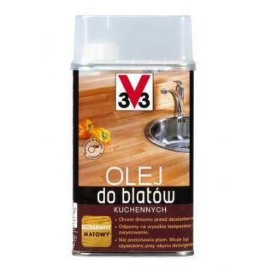 Olej DO BLATÓW KUCHENNYCH 0.5 l Bezbarwny Matowy V33
