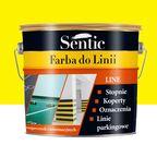 Farba do podłóg do linii 3 l żółta Sentic