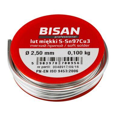 Rolka drutu lutowniczego 2.5 mm 100 g BISAN