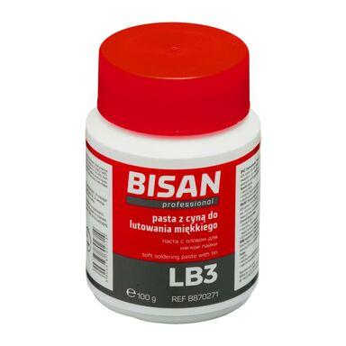 Pasta do lutowania miękkiego LB3 100 g (PUSZKA) BISAN