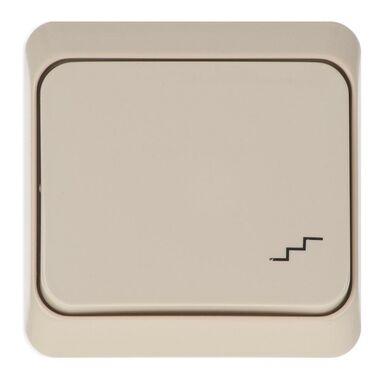 Włącznik schodowy PRIMA  Beżowy  SCHNEIDER ELECTRIC