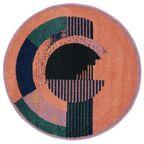 Dywan okrągły TAT różowy śr. 100 cm