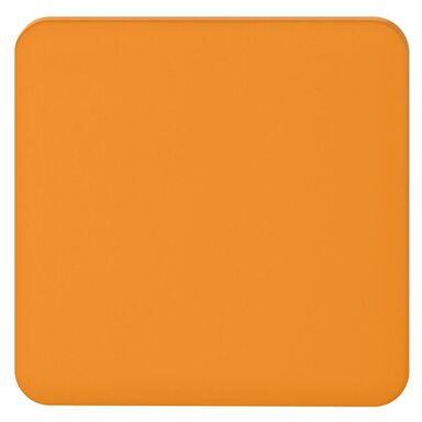 Plakietka do włącznika pojedynczego schodowego  pomarańczowy  LEXMAN