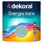 Farba wewnętrzna ENERGIA BARW 2.5 l Zieleń za mgłą DEKORAL