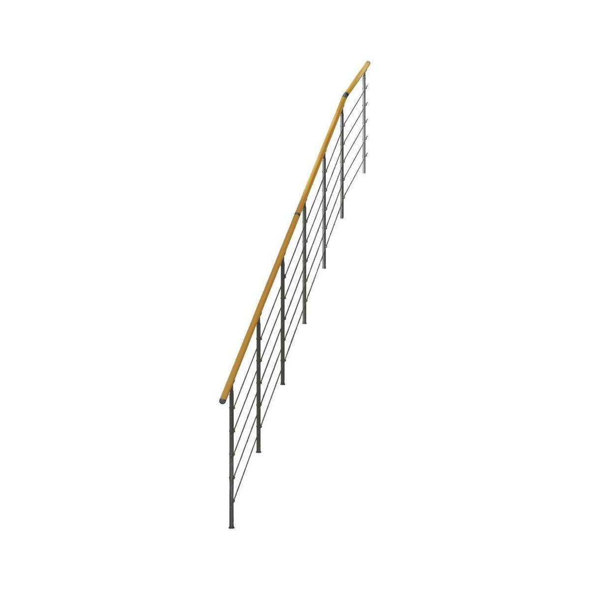 Balustrada Do Schodow Frankfurt Nierdzewna Dolle Balustrady Drewniane I Metalowe W Atrakcyjnej Cenie W Sklepach Leroy Merlin