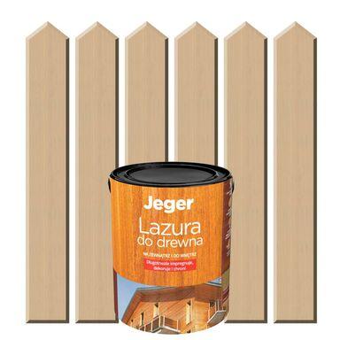 Lazura do drewna 0,4 l518 JEGER