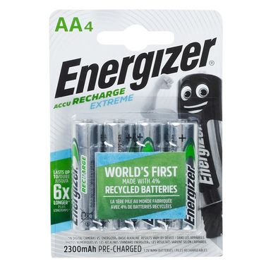 Akumulator do ładowania AA 4 SZT  ENERGIZER