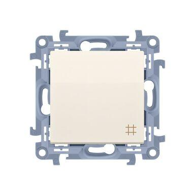 Włącznik krzyżowy SIMON 10  kremowy  SIMON