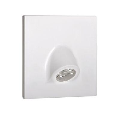 Oprawa schodowa MEFIS biała kwadratowa LED KANLUX