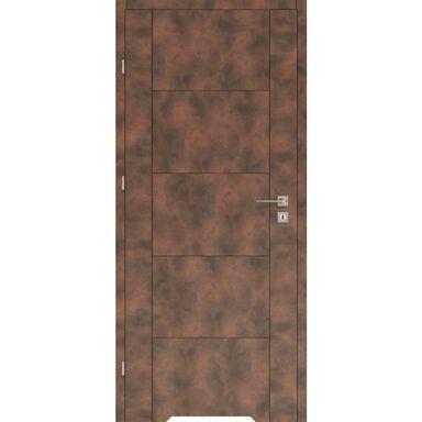 Skrzydło drzwiowe z podcięciem wentylacyjnym DUAL Miedź 60 Lewe VOSTER