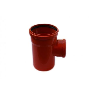 Trójnik kanalizacji zewnętrznej KZ 160 X 110 / 90° POLIPLAST