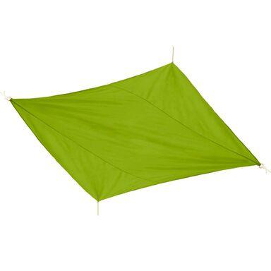 Żagiel cieniujący kwadratowy 360 x 360 cm zielony JUMI
