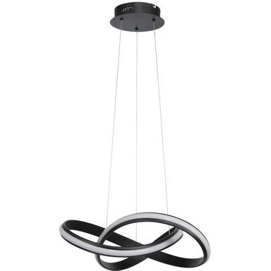 Lampa wisząca SALO czarna LED WOFI